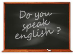 英語、苦手。