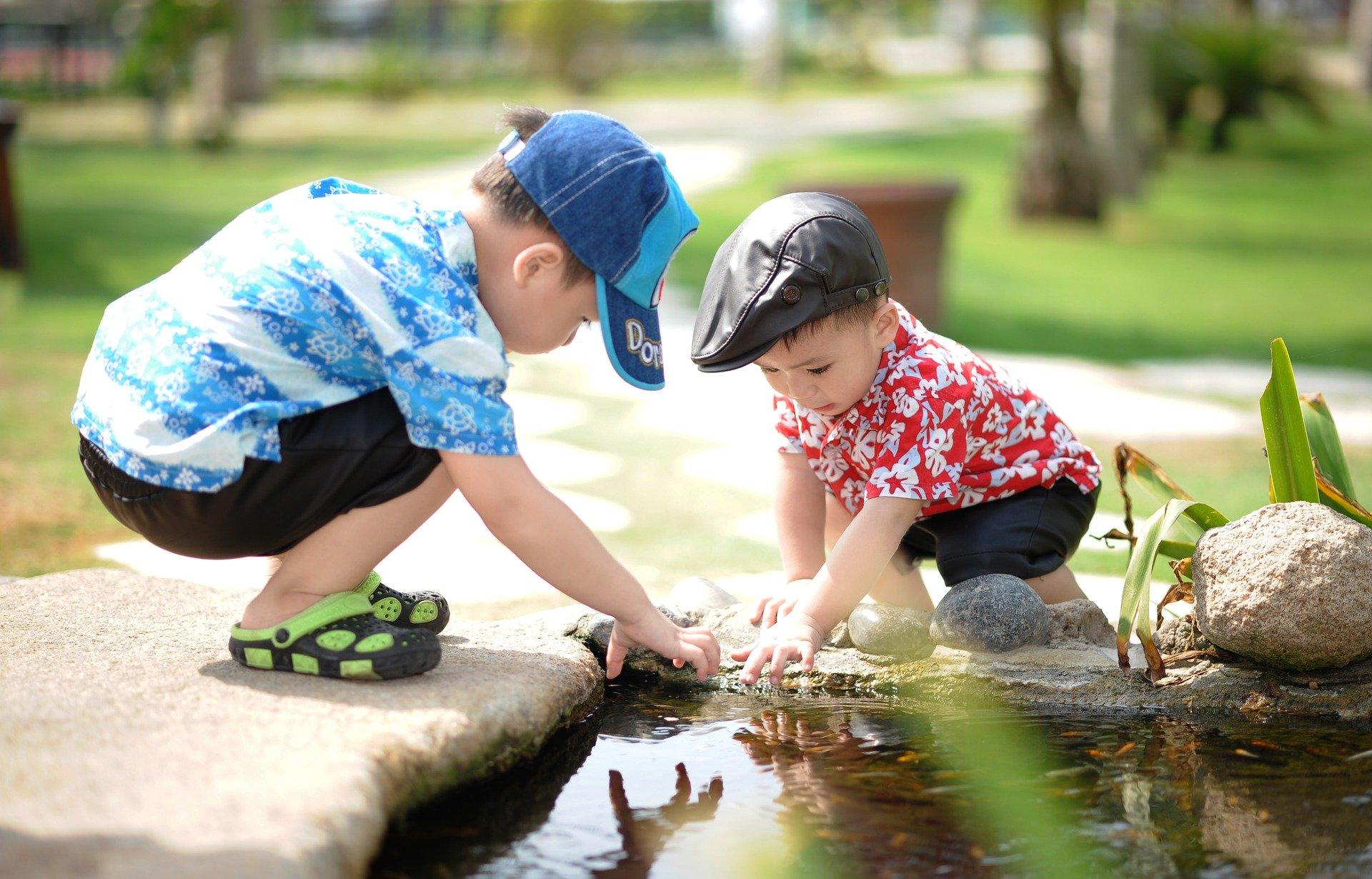 子どもたちも自然の一部